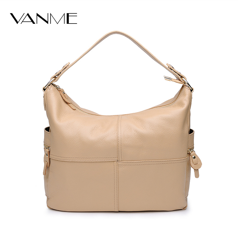 2017 Women Genuine Leather Bucket Bag High Quality Cowhide Handbags First Layer of Leather Designer Vintage Bag Bolsas Femininas high end of the first layer of litchi grain leather bucket bag basket classic bag handbag small women