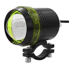 MotoLovee Motorcycle LED 12v-80v Light Motorbike Explosive Flash Lamp For Scooter Headlamp Electric Vehicle