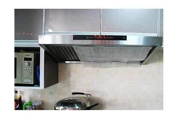 Küche fett holzkohle geruch palette abgasabsaugung filter ersatz