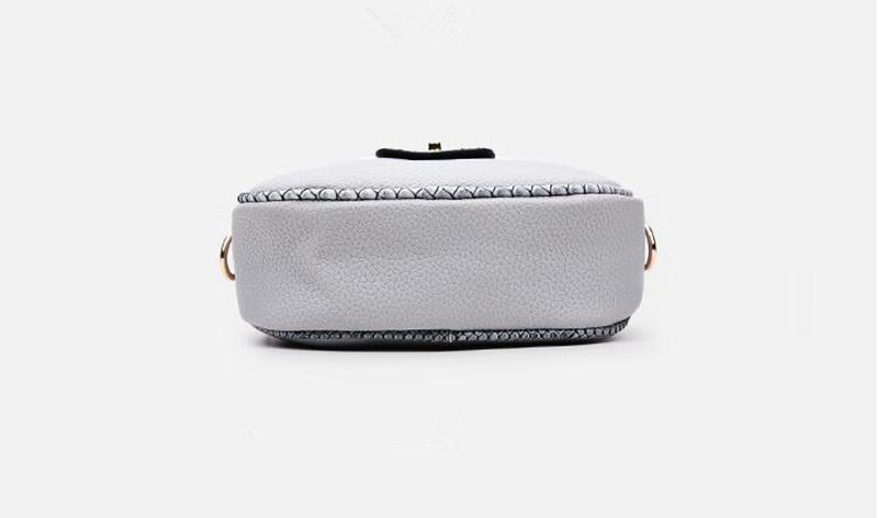 8 grey women handbag