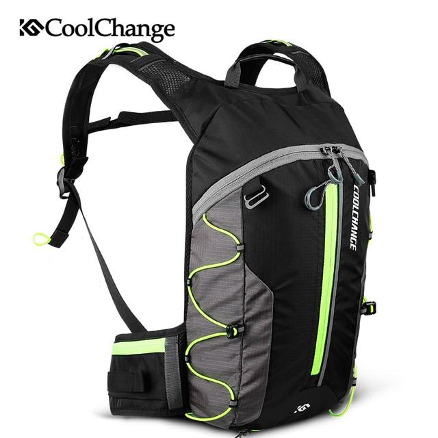 Coolchange saco de bicicleta ultraleve esportes à prova dultralight água respirável mochila saco de bicicleta portátil dobrável ciclismo mochila 1