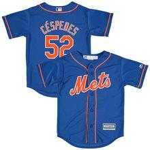 1b20b3221e2 ... Home Custom Cool Base Jersey MLB Youth New York Mets Yoenis Cespedes  Baseball Royal Alternate Official Cool Base Player Jersey ...