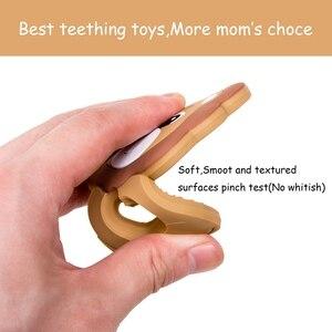 Image 4 - Yapalım 5 adet silikon diş kaşıyıcı karikatür aslan silikon boncuk bebek diş çıkarma boncuk diş kaşıyıcı kolye aksesuarları bebek diş kaşıyıcı