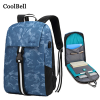 USB Charging Laptop 13 14 15.6 Portable Travel Backpack For Macbook Pro 13.3 15 Case Retina 15.4 Notebook Bag 14.4 Handbag Cover
