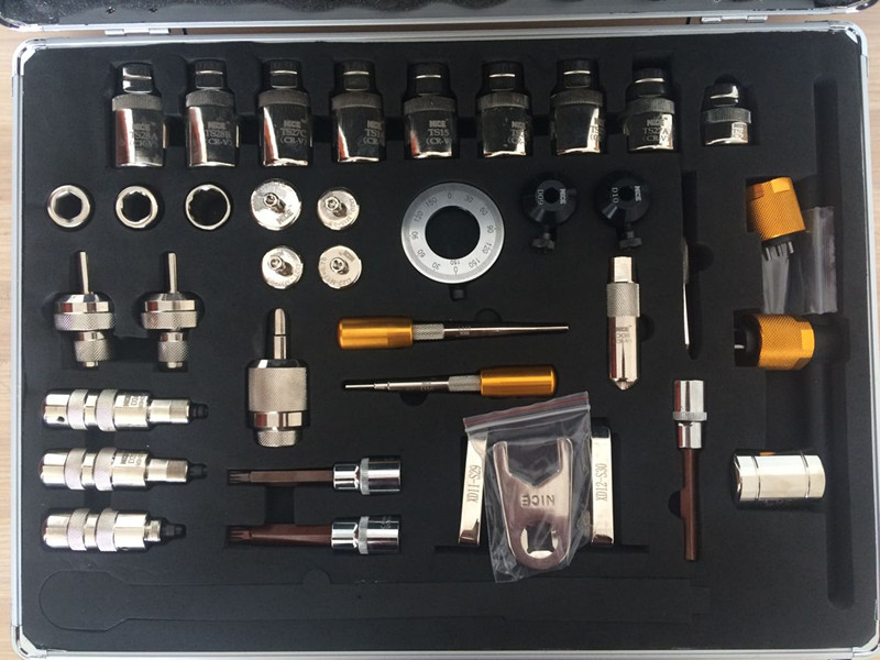 BST3002 common rail injector disassemble and dismounting tool kits common rail injector repair tool kits 38pcs