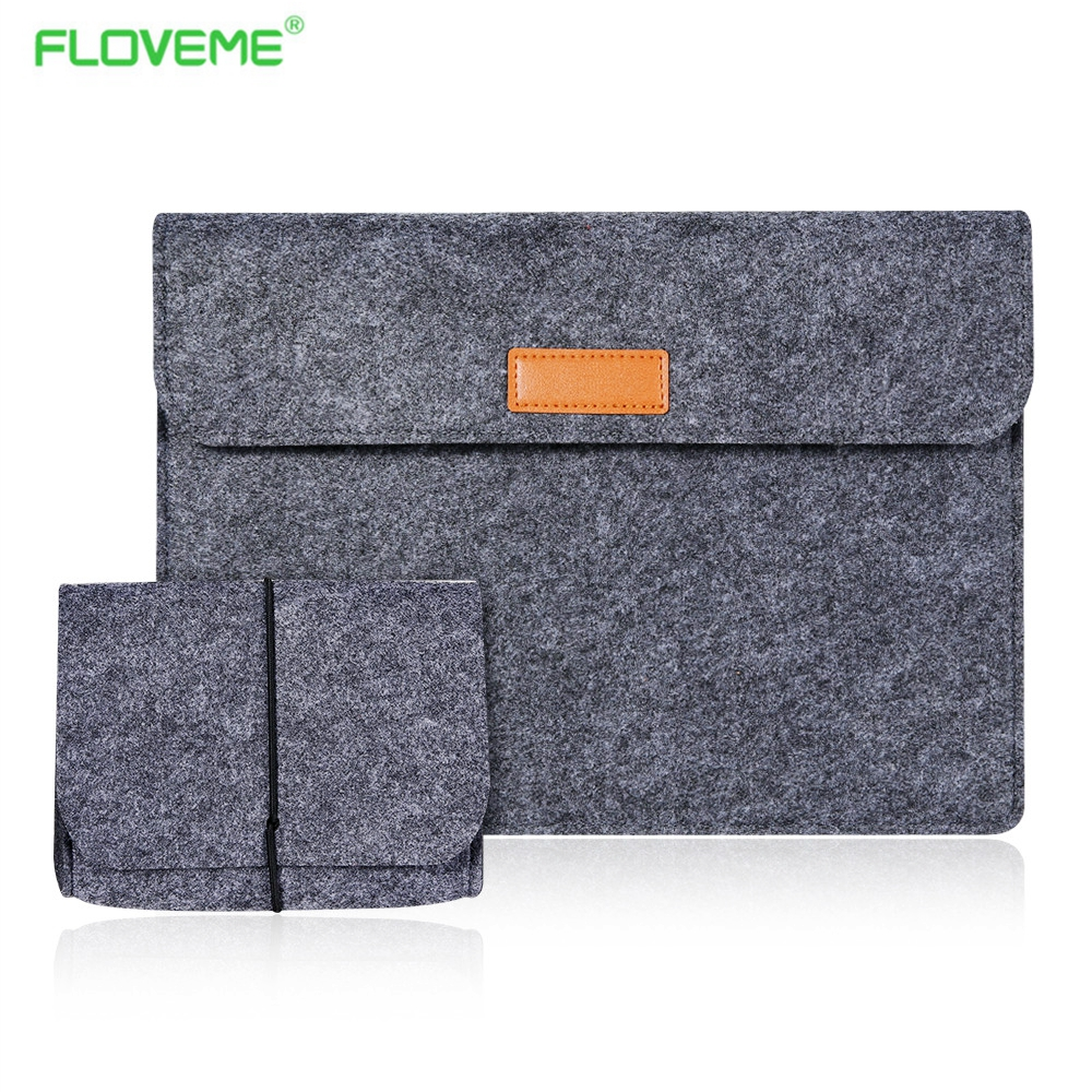 FLOVEME 12inch Size Tablet Case For Apple Macbook Air Mac book Envelope Pouch Sleeve Bag Protective Laptop Anti-scratch Cover