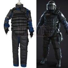 Tom Clancy's Rainbow Six Siege Montagne Gilles Toure, костюм для косплея, униформа на Хэллоуин, наряд для косплея, костюм на заказ, любой размер