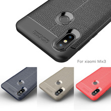 цена на Xiaomi Mi Mix 3 Case Etui Silicon Cover Case for Xiaomi Mi Mix 3 2 2S Mix3 Funda Shockproof Carbon Fiber Bumper Coque Accessory