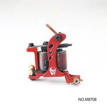 Solong Fashional Shape New Tattoo Machine Handmade Taty Coil Gun for Liner Shader Beginner Supplies M8708