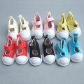 5 см Кукла обувь Джинсы Холст Мини Игрушки Shoes1/6 Bjd Sneackers сапоги Для Российских Тильда куклы