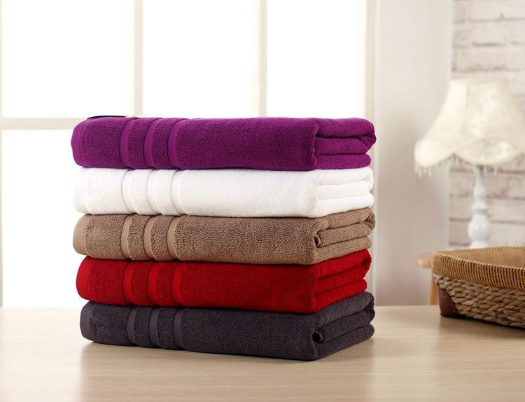 36*78CM 100/% Egyptian Cotton Super Soft Thick Luxury Large Hand Towels Sheet