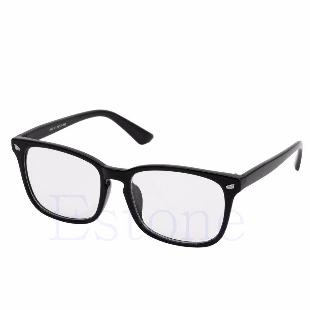 1 Stück Männer Frauen Unisex Retro Brillen Rahmen Vollrand Computer Brille Brille Strukturelle Behinderungen