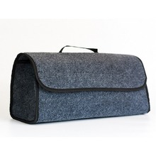 49*16*24cm High Quality Foldable Storage Bag Felt Cloth Collapse Trunk Cargo Organizer Car Travel