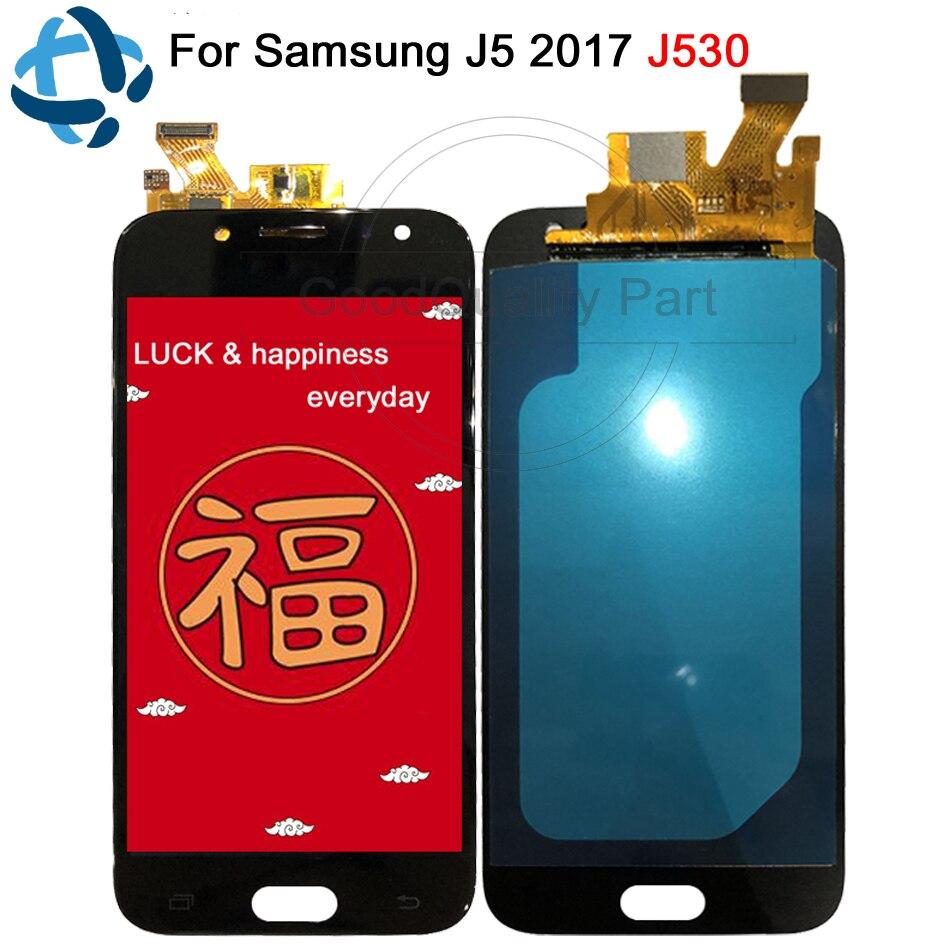 100% test AMOLED pour SAMSUNG J5 Pro 2017 J530 écran tactile LCD pour Samsung J530F J530M J5 2017 écran numériseur assemblée