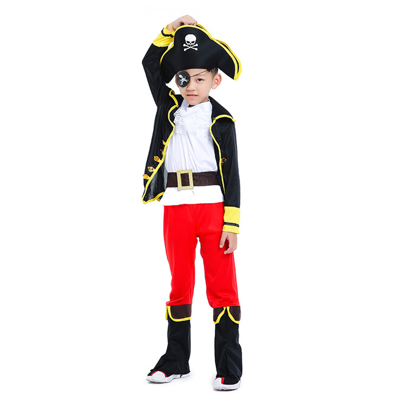 Disfraz de disfraz de pirata capitán niños niños - Disfraces - foto 3