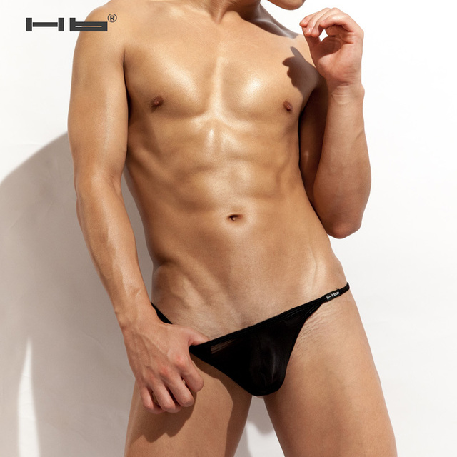 Hb & Men Underwear collections mens thong pouch Men black G-Strings & Thongs.Sexy and fashional  sheer underwearmens undies