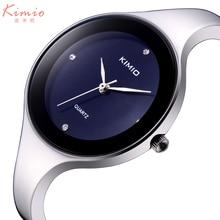 2017 Mode Kimio Montres mujer Montre-Bracelet Bracelet À Quartz montre Femme Dames Montres Horloge Femelle Robe Relogio Feminino K2682