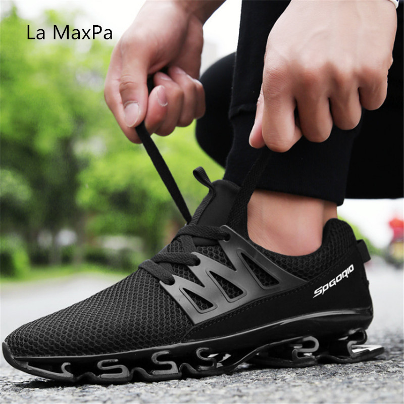 size 39-46 2018 new breathable running shoes men sneakers bounce summer outdoor sport shoes man Professional Training shoes