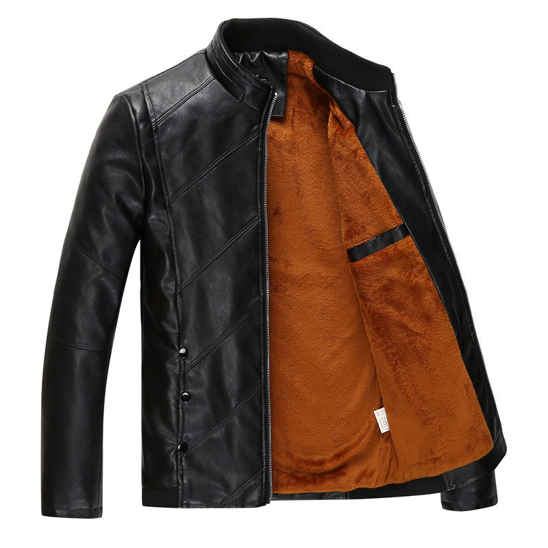 Colored faux leather jackets