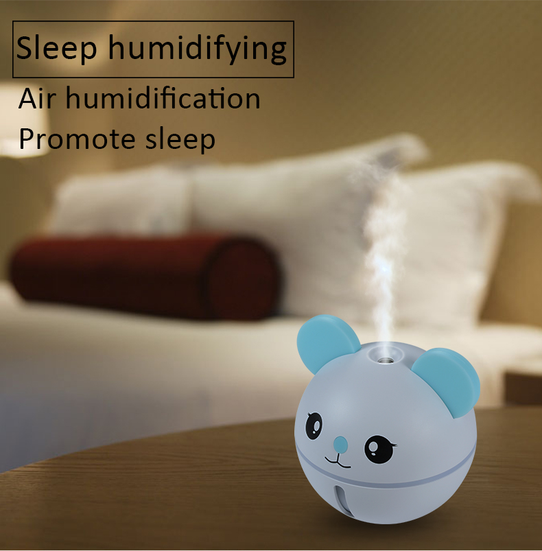 USB MINI Humidifier Sleep Quality Improving Humidificador Diffuser Mute Working Convenient Life Air Humidifier Pk Xaomi Smartmi
