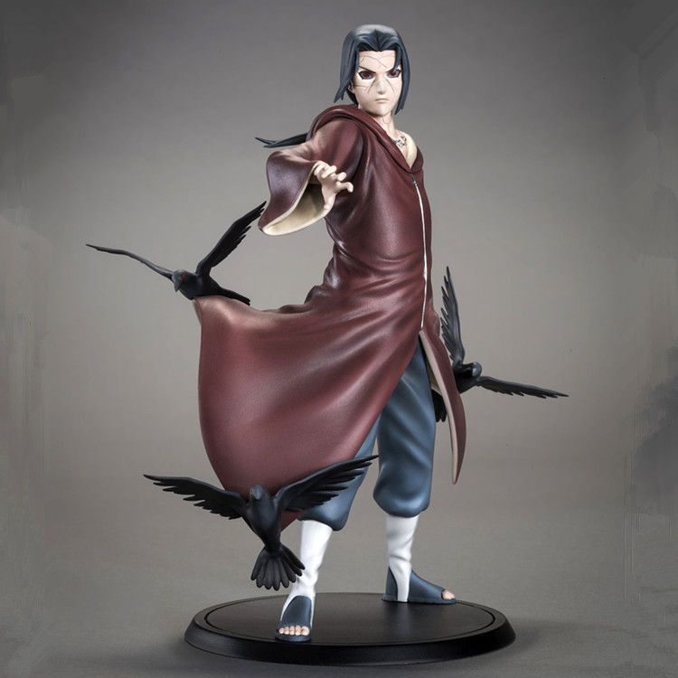 Naruto Uchiha Itachi 1/8 Scale Painted Figure Uchiha Itachi Brinquedos Anime PVC Action Figure Collectible Model Toy 17cm  2018