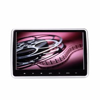 10,1 HD lcd сенсорный экран цифровой автомобильный монитор подголовник сиденья авто DVD/CD/USB/SD плеер