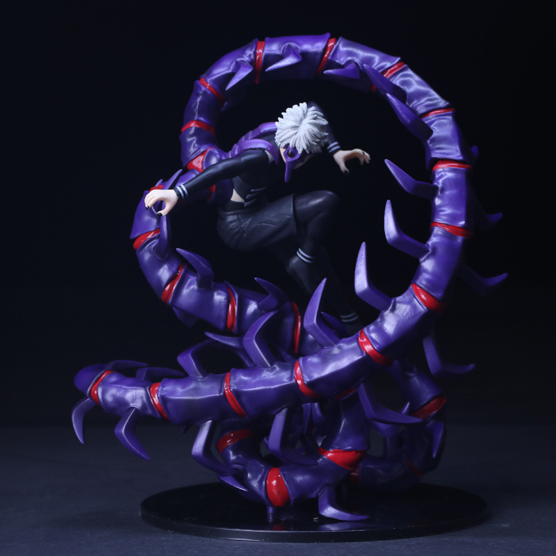 Anime Tokyo Ghoul Kaneki Ken Brinquedos PVC 28CM Centipede KID Action Figure Collectible Model doll Toy Chritmas Gift HZW074 neca planet of the apes gorilla soldier pvc action figure collectible toy 8 20cm