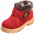 New Winter Boys Girls Suede Snow Boots Children Ankle Boots Flats Oxford Kids Shoes Platform Martin Sneakers Toddlers Footwear