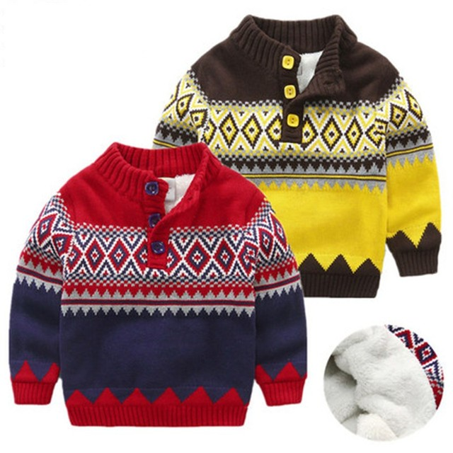 baby boys christmas sweater for winter warm cotton 2017 fashion thicken children baby boys handsome turtleneck