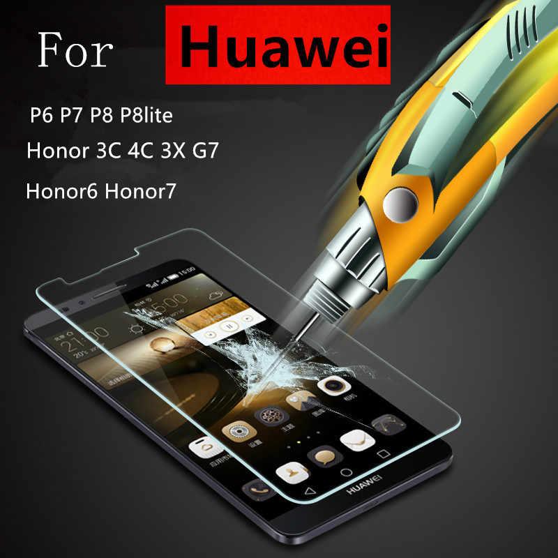 9 H 2.5D 強化ガラス honor 9 3c 4c 6 7 フィルムスクリーンプロテクター huawei アセンド P8 Lite 2015 p7 P6 P6S メイト 7 Y5C 楽しむ 5 s