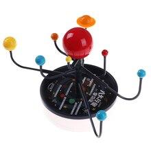 Модель Солнечной системы, картина с девятью планетами, модель «планетарий», комплект для обучения наукам, астрономии, географии, Обучающие принадлежности для детей, обучающая игрушка