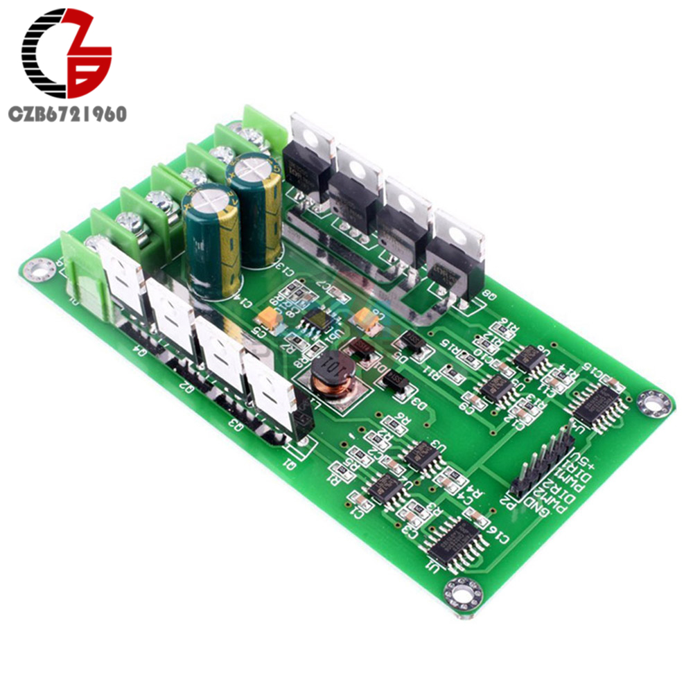 DC 5V 12V 24V 15A Dual H-Bridge DC Motor Driver Module Motor Drive Controller Board for Arduino Robot Car Compatible 3V-36V tt motor diy robot reducer dc 3v 12v strong magnetic anti interference dual axis