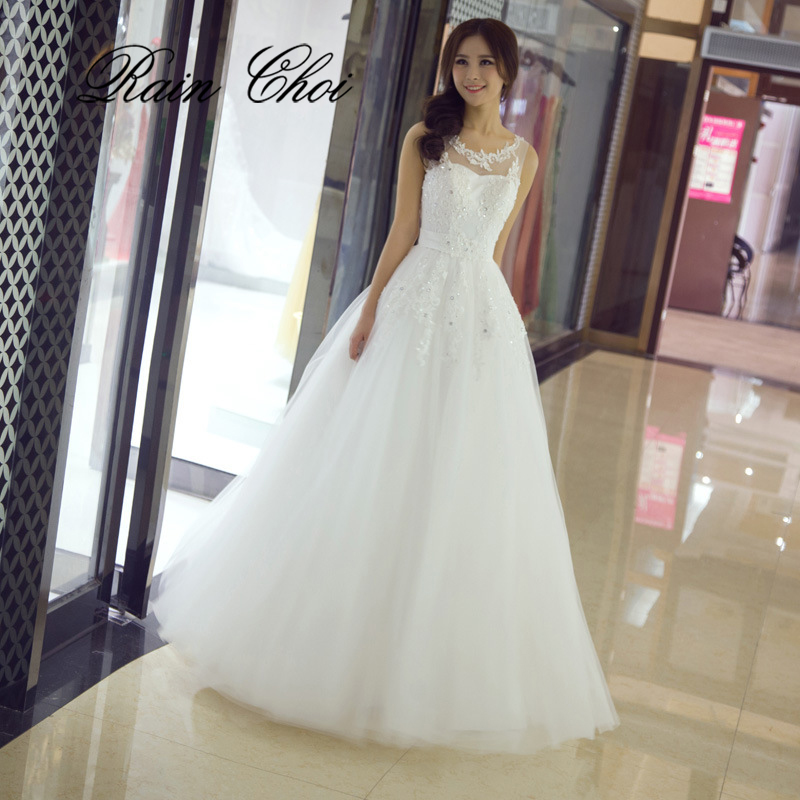 Aliexpress.com : Buy Wedding Dresses 2019 A Line Long