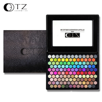 TZ Brand 125 Colors Eyeshadow Palette Easy To Wear And Long Lasting With Brushes Inside Earth