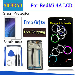 """Image 1 - AICSRAD 5.0"""" LCD For XIAOMI Redmi 4A LCD Display Touch Screen Digitizer Replacement For XIAOMI Redmi 4A Display With Frame"""