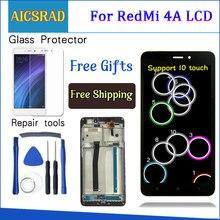 """AICSRAD 5.0 """"LCD עבור XIAOMI Redmi 4A LCD תצוגת מסך מגע Digitizer החלפת לxiaomi Redmi 4A תצוגה עם מסגרת"""