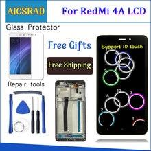 """AICSRAD 5.0 """"MÀN HÌNH LCD Cho XIAOMI Redmi 4A MÀN HÌNH Hiển Thị LCD Bộ Số Hóa Cảm Ứng Thay Thế Cho XIAOMI Redmi 4A Màn Hình khung"""