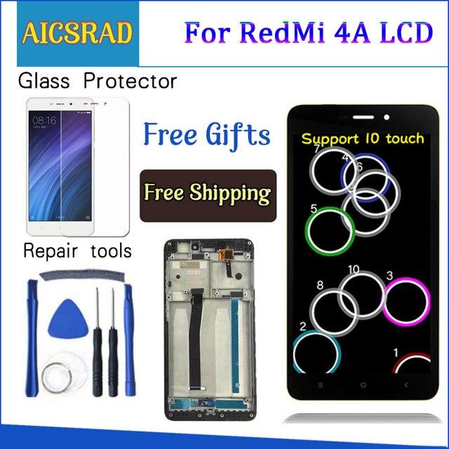 "AICSRAD 5.0 ""液晶 XIAOMI Redmi XIAOMI Redmi 4A Lcd ディスプレイタッチスクリーンデジタイザー交換 4A ディスプレイフレーム"