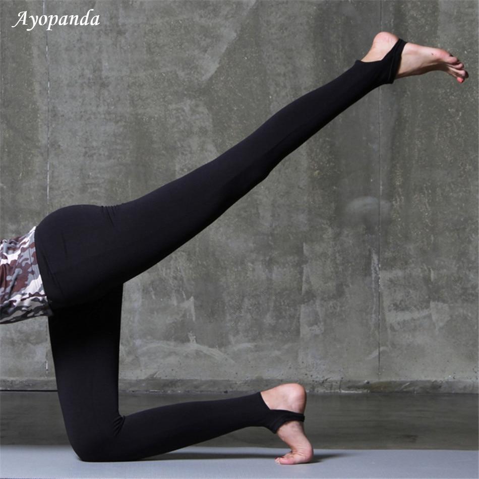 Ayopanda Booty Queen Seamless Stirrup Yoga Leggings High