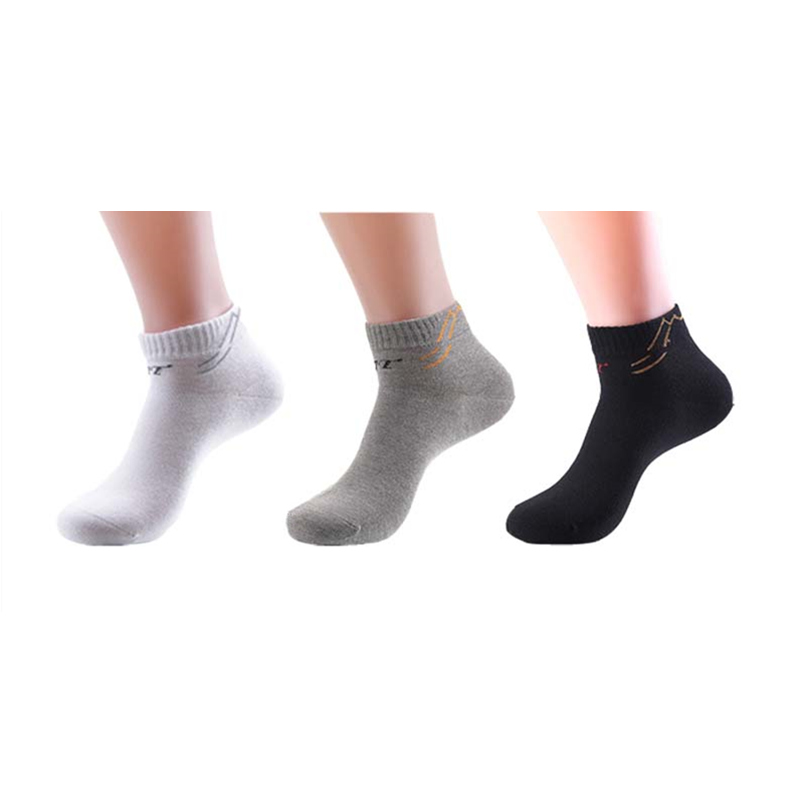 3 pairs/lot combed cotton mens ankle socks men breathable thin boat socks solid color high quality business sock