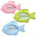 Flutuante Peixe Lindo Brinquedo Do Banho Do Bebê Termômetro Termômetro de Água Do Bebê Float Banheira Água Sensor Termômetro beBetter