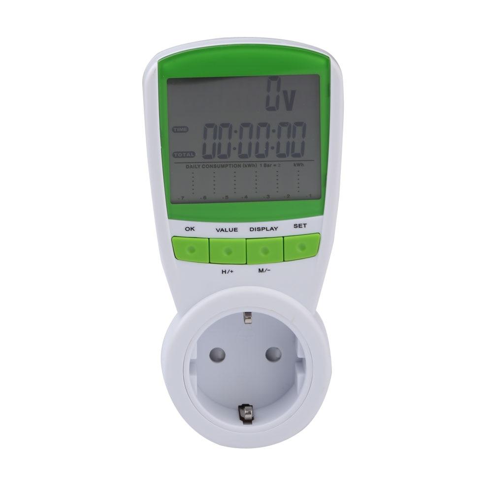 230V Digital energy font b meter b font Watt Voltage Volt font b Meter b font