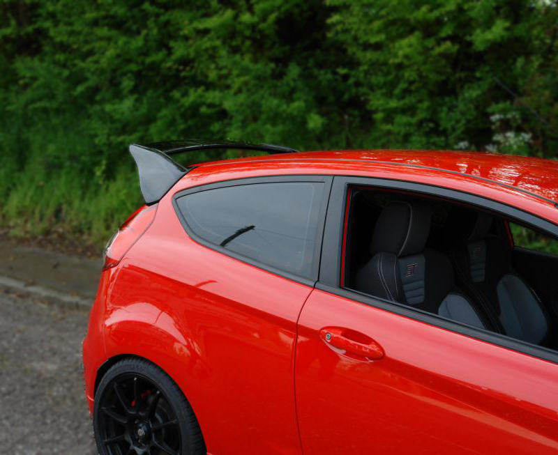 Fiesta St Facelift Rs Style Rear Spoiler 1