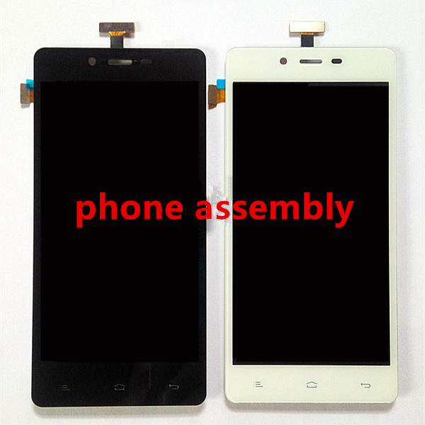New Repair Parts For Allview P6 Energy LCD Display + Touch Screen Digitizer Replacement cell phone Assembly black