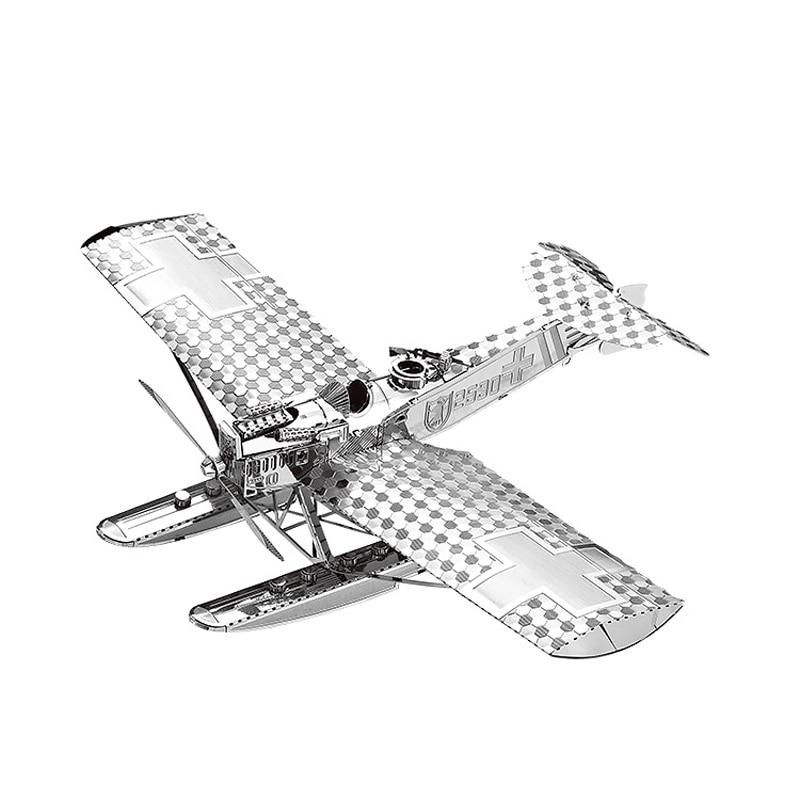 Nanyuan 3D Metal Puzzle Hansa Brandeburg W29 - ფაზლები - ფოტო 1