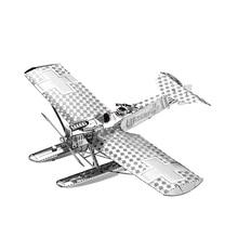 Nanyuan 3D Metal Puzzle Hansa Brandeburg Modelul W29 de avion Model DIY Laser Cut Assemble Jigsaw Jucării Decorațiuni de birou GIFT Pentru Audit