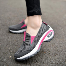 Women air cushion max running shoes non-slip mesh breathable outdoor sports shoes spring 2018  Platform sneakers Walking shoes new couples sports shoes breathable mesh outdoor running shoes for men women air cushion running sneakers non slip running shoes