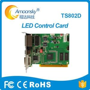 Image 1 - Linsn ts802d carta di invio per rgb video display controller ts802 linsn sostituire sistema di controllo linsn ts801 ts801d carta di invio