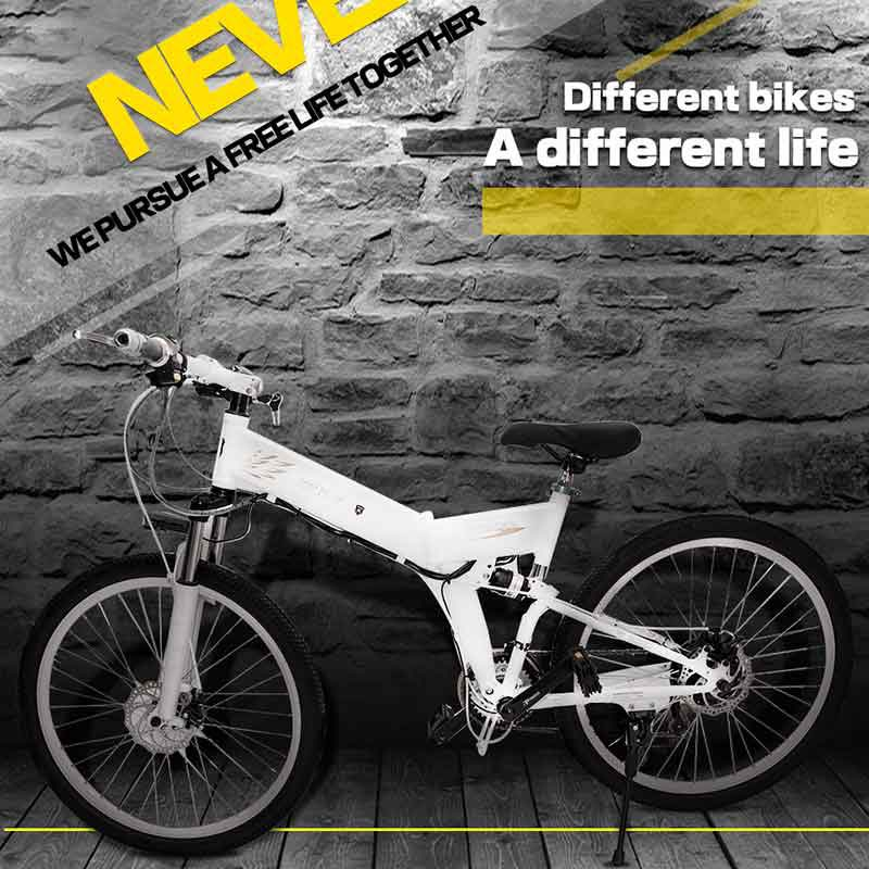 New Electric Bike 24 Speed 10AH 36V 350W Built-in Lithium battery E bike electric 26 Off road Electric bicycle Folding ...