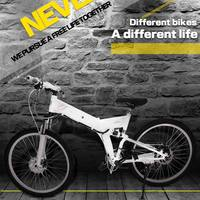 Yeni Elektrikli Bisiklet 24 Hız 10AH 36 V 350 W Dahili Lityum pil E bisiklet elektrikli 26